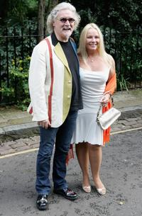 Billy Connolly and Pamela Stevenson at the David Frost's Summer Party.