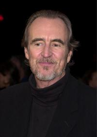 Wes Craven at the screening of