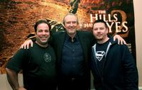 Wes Craven, Jimmy Palmiotti and Justin Gray to promote their new movie