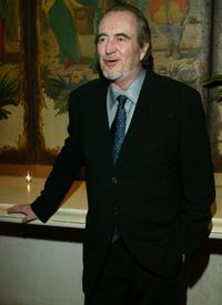 Wes Craven at the State of the Union Viewing party.