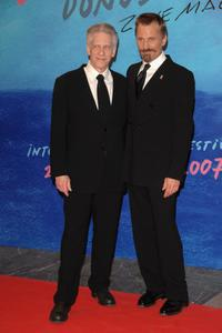 David Cronenberg and Viggo Mortensen at the 55th San Sebastian Film Festival Opening Night.