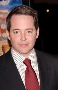 """Matthew Broderick at the premiere of """"Deck The Halls"""" in Hollywood."""