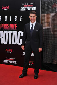Tom Cruise at the New York premiere of