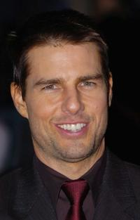Tom Cruise at the UK premiere of