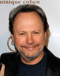 Billy Crystal at the opening of the Dominique Cohen Flagship Jewelry Store.