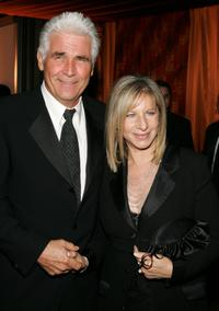 James Brolin and wife Barbra Streisand at the Governors Ball after the 77th Annual Academy Awards.