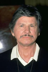 Charles Bronson in a photo taken in New York.