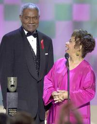 Ossie Davis and Ruby Dee at the 7th Annual Screen Actors Guild Awards.