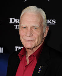 Dale Dye at the California premiere of