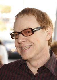 Danny Elfman at the premiere of