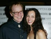 Danny Elfman and Fran Drescher at the world premiere of