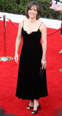 Sally Field at the red carpet of the 14th Screen Actors Guild Awards.