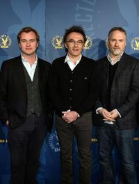 Directors Christopher Nolan, Danny Boyle and David Fincher at the DGA (Director's Guild of America) Awards Meet The Nominees.