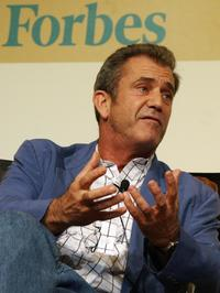 Mel Gibson at the Forbes Global CEO Conference.