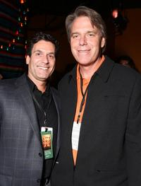 Oren Aviv and Raja Gosnell at the after party of the world premiere of