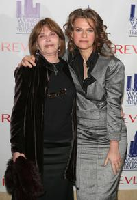 Lee Grant and Sandra Bernhard at the Women in Film and Televisions Annual Muse Awards.