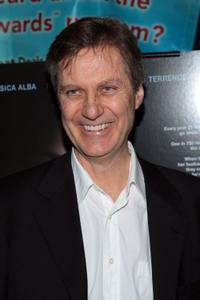 Lasse Hallstrom at the New York premiere of