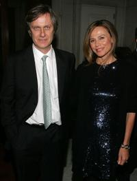 Lasse Hallstrom and Lena Olin at the after party of the premiere of