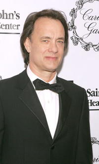 Tom Hanks at the 2005 Saint John's Health Center Gala Caritas Award in Beverly Hills.