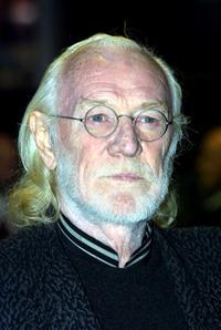 Richard Harris at the world premiere of