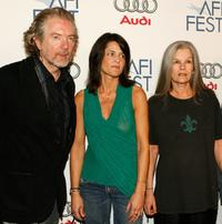 Jay Craven, Hathalee Higgs and Genevieve Bujold at the screening of