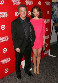 Dustin Hoffman and Natalie Portman at the New York premiere of