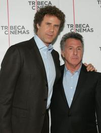 Dustin Hoffman and Will Ferrell at the New York premiere of