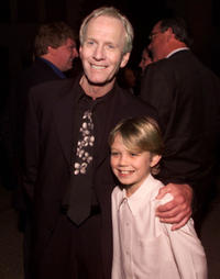 Paul Hogan and Serge Cockburn at the premiere of