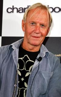 Paul Hogan at the press conference of