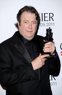 Roger Allam at the Olivier Awards 2011 in England.