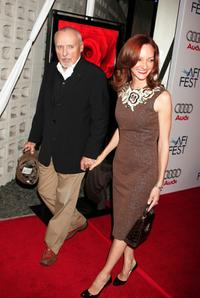 Dennis Hopper and wife Victoria Duffy at the AFI FEST 2007 presented by Audi closing night gala screening of