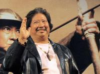 Sammo Hung at the event to promote