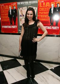 Cara Buono at the New York premiere of