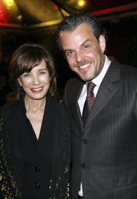 Danny Huston and Anne Archer at the Hollywood Legacy Awards.