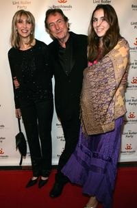 Eric Idle and his family at the 2005 Roller Lint Party benefiting Los Angeles Animals.