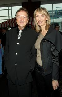 Eric Idle and Tania Kosevich at the