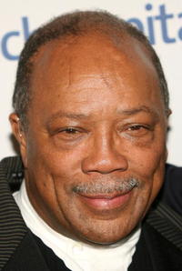 Quincy Jones at the Singers and Songs Celebrate Tony Bennett's 80th birthday event.
