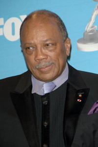 Quincy Jones at the 38th Annual NAACP Image Awards.