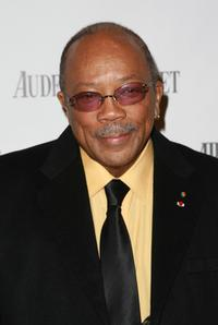 Quincy Jones at the Q Prize Gala.