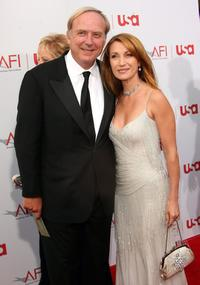 James Keach and Jane Seymour at the 34th AFI Life Achievement Award tribute to Sir Sean Connery.