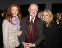 Lisa Kennedy, Michael Kennedy and Eleanor Kennedy at the CHANEL Mobile Art and Central Park Conservancy event.