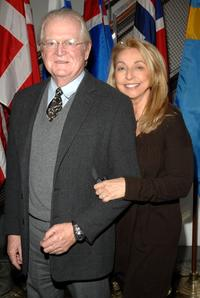 Michael Kennedy and Eleanor Kennedy at the special screening of