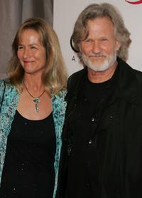 Kris Kristofferson and his wife Lisa at the 39th Annual Country Music Association Awards at Madison Square Garden.