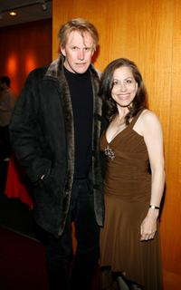 Gary Busey and Vicki Roberts at the screening for the 20th anniversary of the film