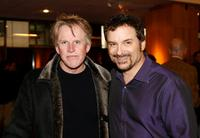 Gary Busey and writer Shane Black at the screening for the 20th anniversary of the film
