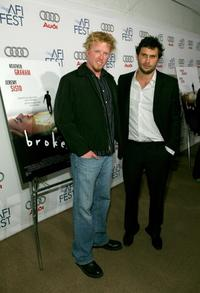 Jake Busey and Jeremy Sisto at the world premiere of