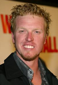 Jake Busey at the premiere of