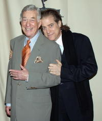 Shelly Berman and Richard Lewis at the ATAS presents an evening with