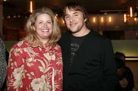 Richard Linklater and his sister Susan Parthasarathy at the after party of