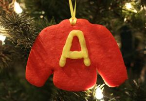 Celebrate the Holidays with this DIY Alvin Ornament